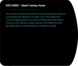 EOS (HNS) - Dead Coming Home