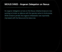 NEXUS (HNS) - Angaran Delegation on Nexus