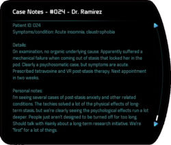 Case Notes - #024 - Dr. Ramirez