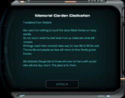 Memorial Garden Dedication