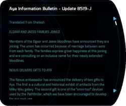 Aya Information Bulletin - Update 8519-J
