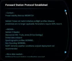 Forward Station Protocol Established