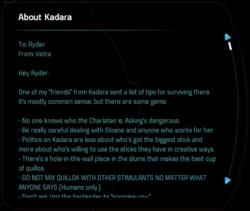 About Kadara