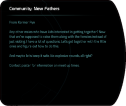 Community: New Fathers