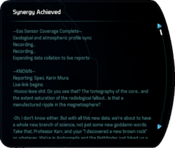 Synergy Achieved