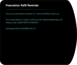 Prescription Refill Reminder