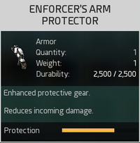 Enforcer's Arm Protector