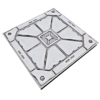 Reinforced Square Tile