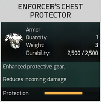 Enforcer's Chest Protector