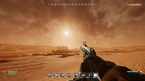 Mars Sun