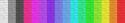 Espectro de corres no Classic  da lã