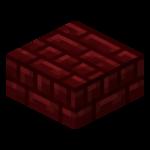 Půlblok z rudých netheritových cihel.png