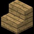 Grid Stejné dřevěné schody.png
