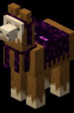 Lama mit violetter Deko.png