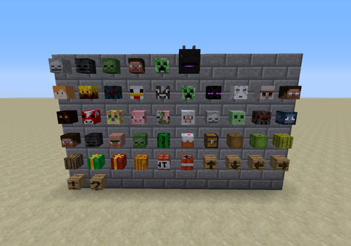 Minecraft Kartentisch Rezept.Kopf Das Offizielle Minecraft Wiki