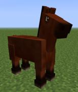 Normales Pferd