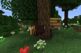 Abeja y nido de abeja.png