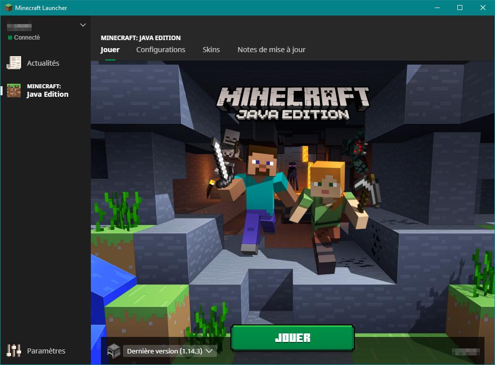 Launcher Le Minecraft Wiki Officiel