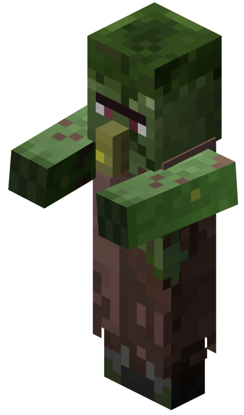 Zombie Villageois Le Minecraft Wiki Officiel