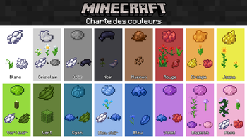 Teinture Le Minecraft Wiki Officiel