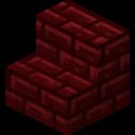 Escalier en briques rouges du Nether.png