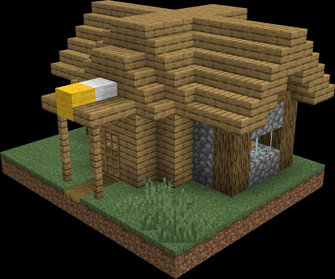 Village  Structure  Blueprints  Plains Fletcher House 1 Blueprint  U2013 Official Minecraft Wiki