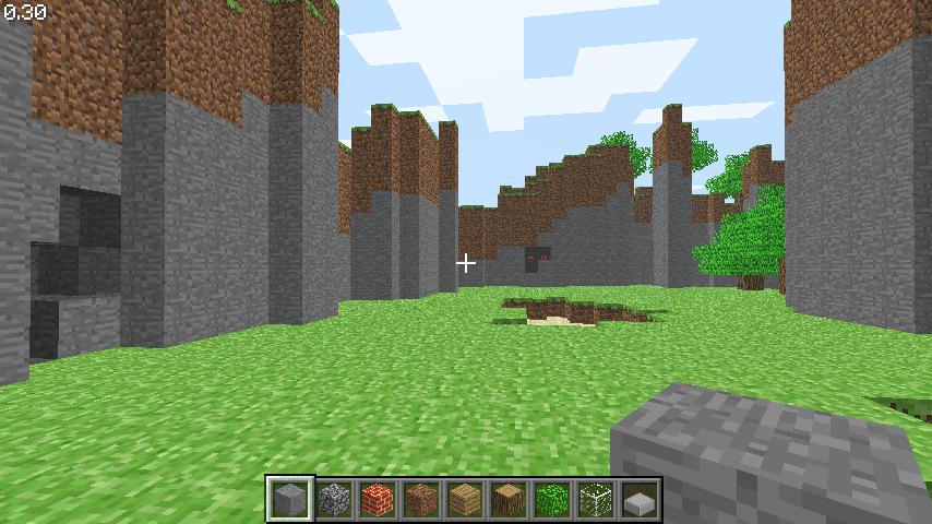 minecraft pc gamer demo creative mode descargar