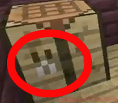 Crafting table has creeper face.png