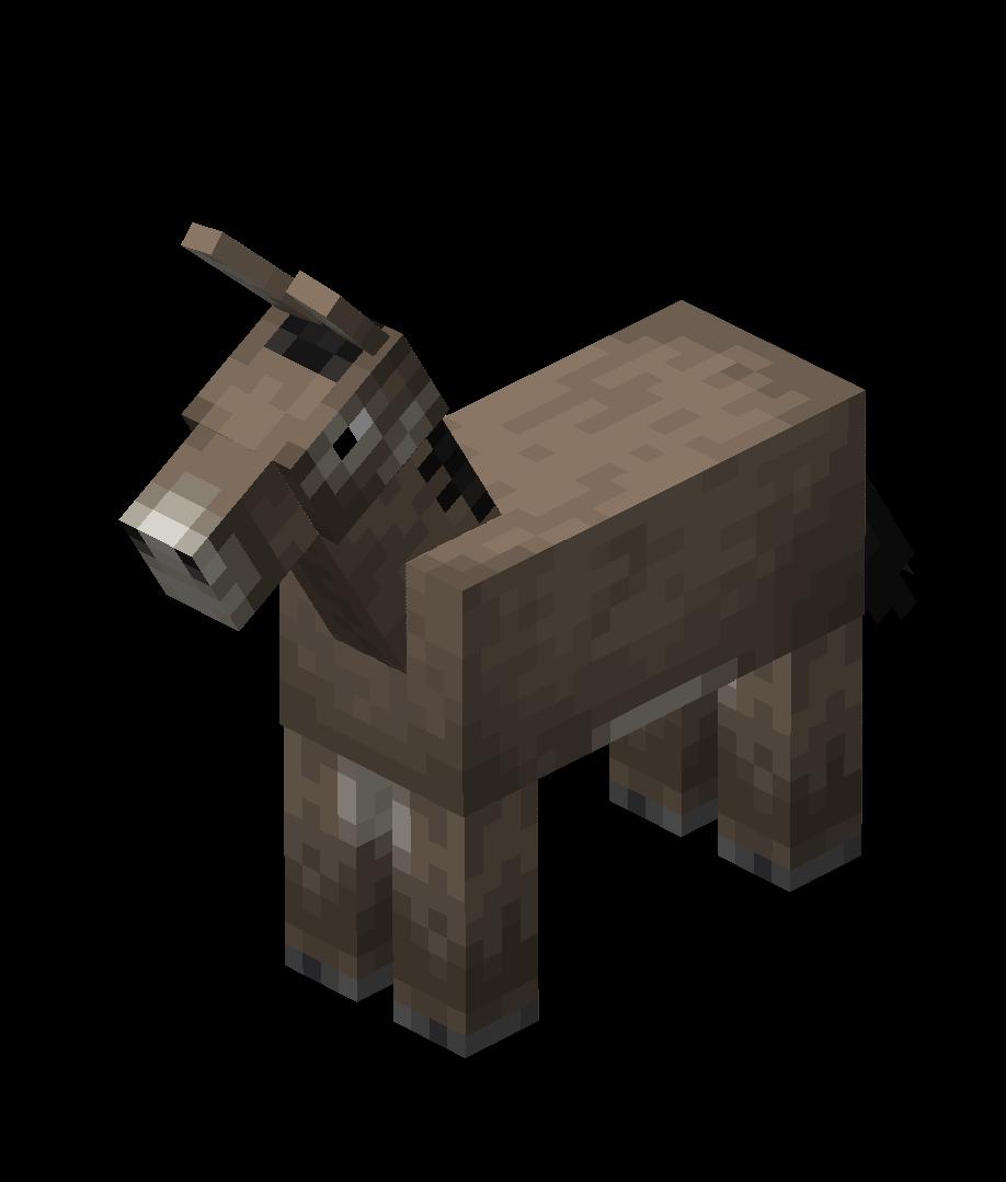 Donkey – Official Minecraft Wiki