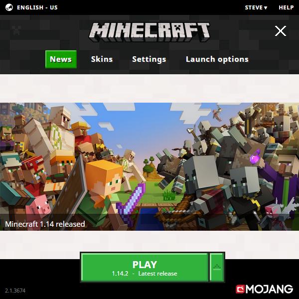 Minecraft launcher – Official Minecraft Wiki