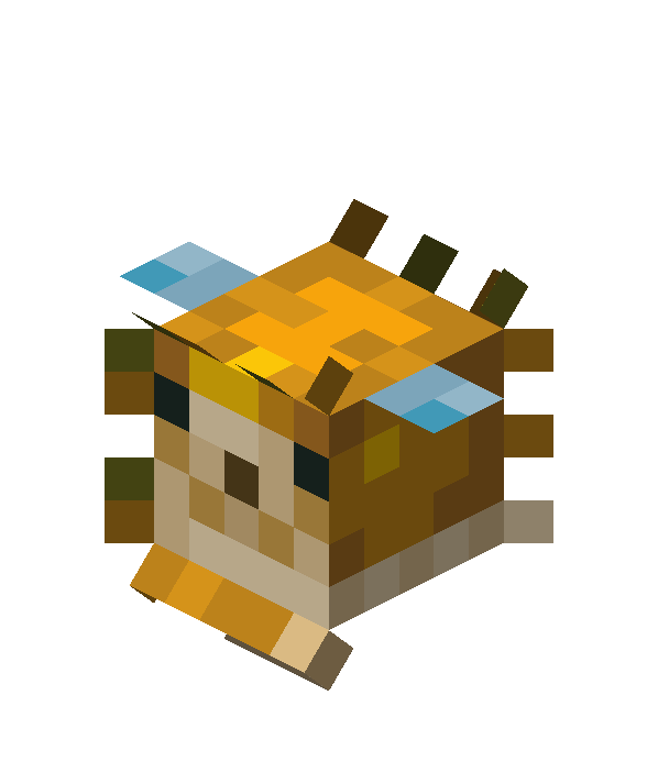 blob fish in minecraft