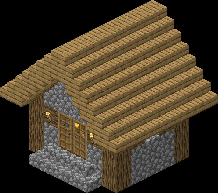 Village  Structure  Blueprints  Plains Small House 7 Blueprint  U2013 Official Minecraft Wiki