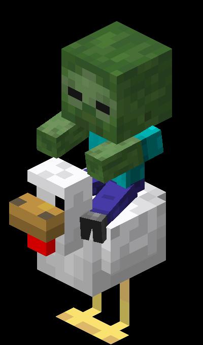 Chicken Jockey Official Minecraft