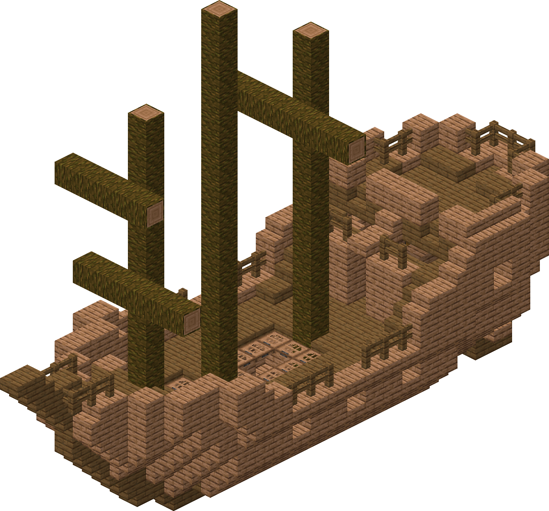 Shipwreck – Official Minecraft Wiki