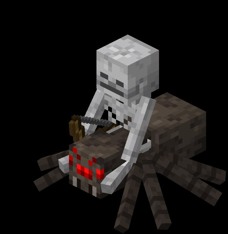 Spider Jockey – Official Minecraft Wiki