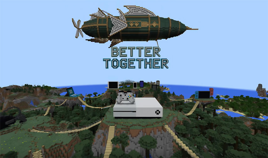 Better Together Update – Official Minecraft Wiki