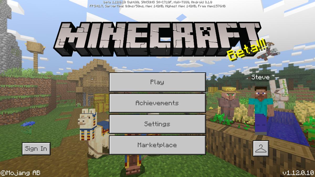Bedrock Edition beta 1 12 0 10