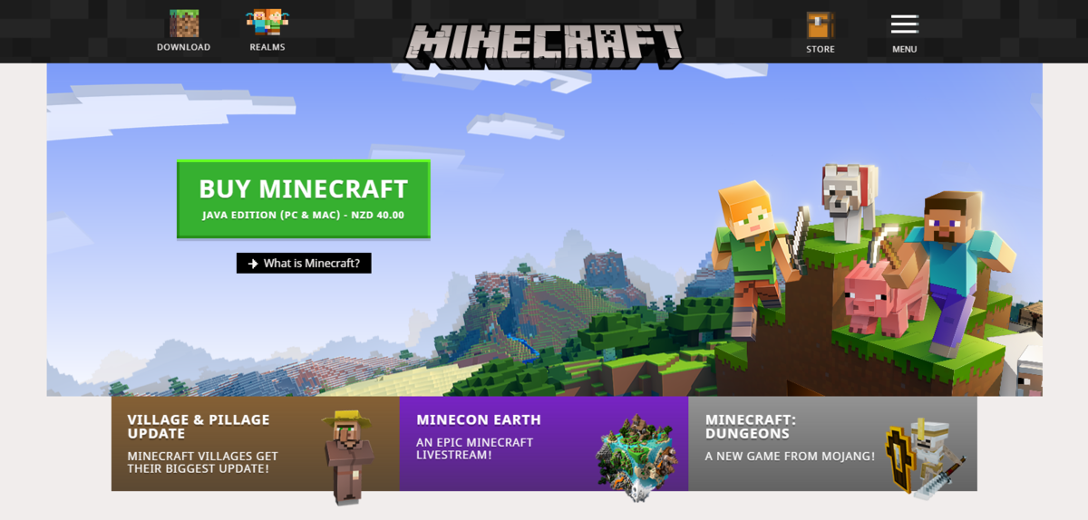 Minecraft net – Official Minecraft Wiki