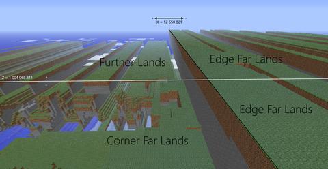 Far Lands – Official Minecraft Wiki