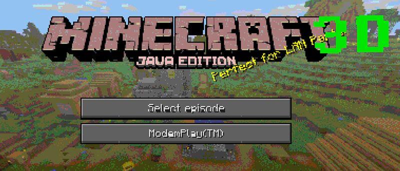 A pegadinha de 1º de Abril do Minecraft em 2019