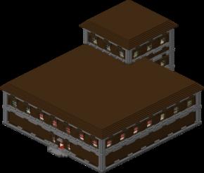 Cancello Di Legno Minecraft : Dimora della foresta minecraft wiki ufficiale