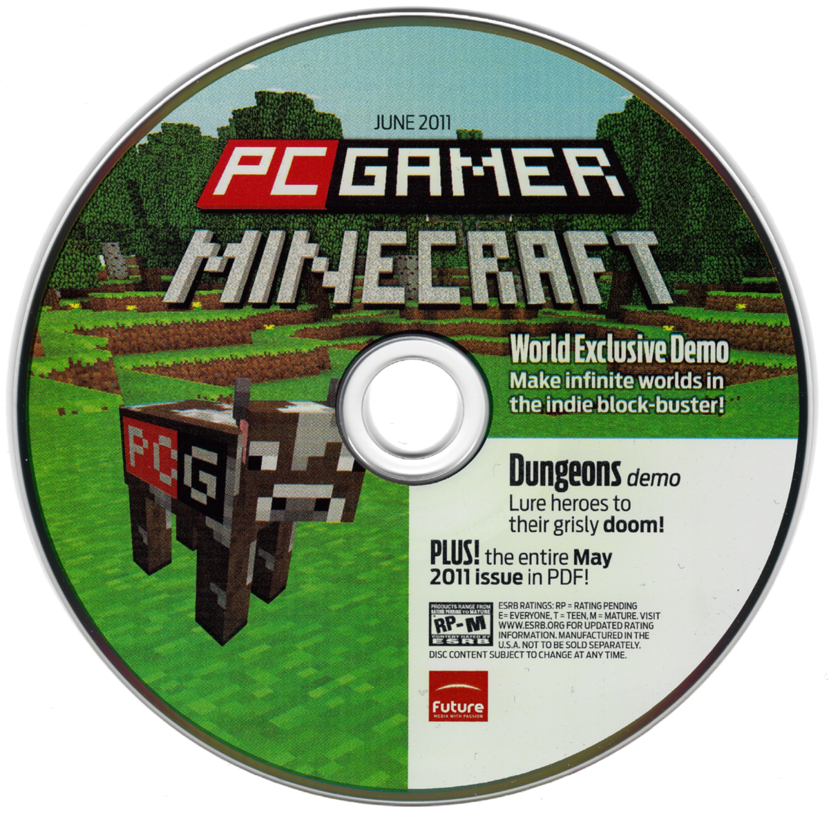 لعبة minecraft pc gamer demo