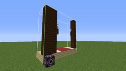 minecraft wooden mansion