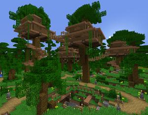 Tutorials Building A Metropolis Official Minecraft Wiki