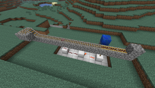 minecraft rails tutorial
