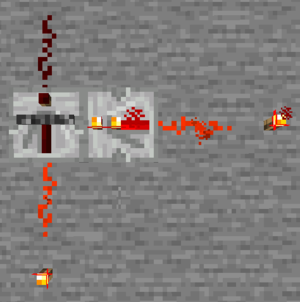 Groovy Minecraft Repeater Circuit Both Repeaters In The Clock Online Wiring Digital Resources Counpmognl