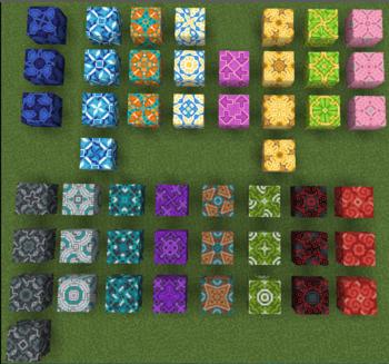 Glazed Terracotta Official Minecraft Wiki