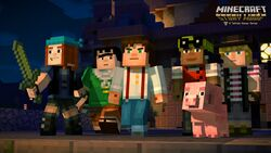 Minecraft Story Mode Official Minecraft Wiki