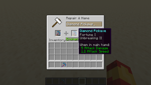 how to see item durability in minecraft