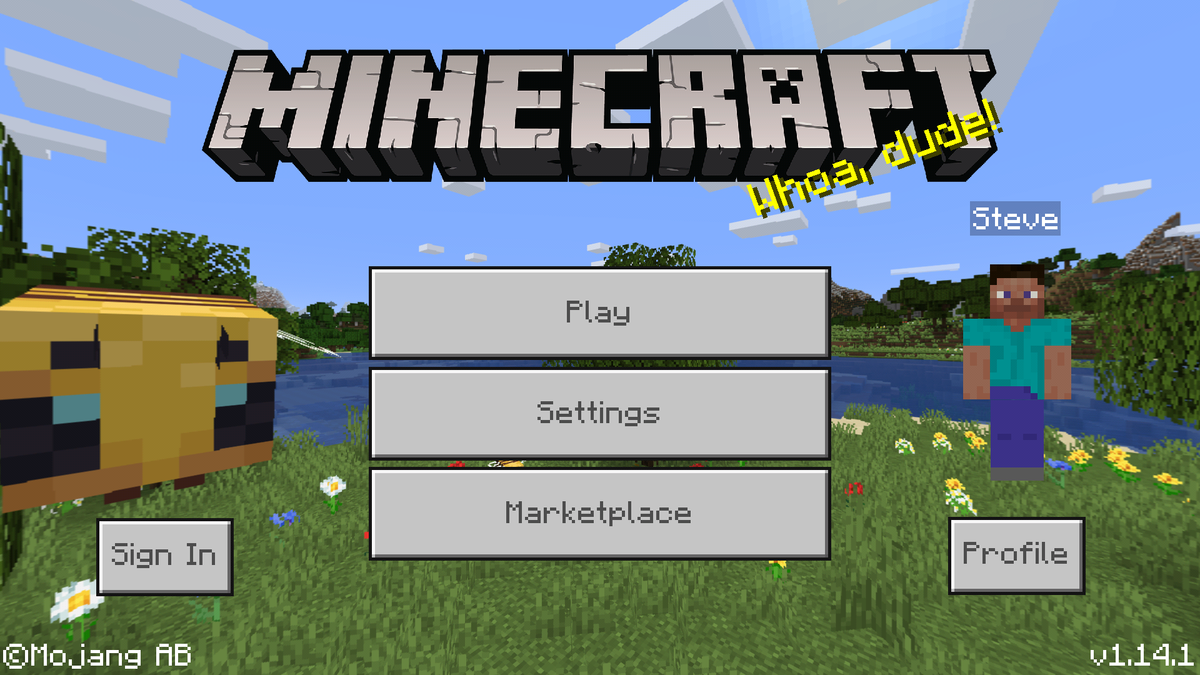 Bedrock Edition 1.14.1 – Official Minecraft Wiki